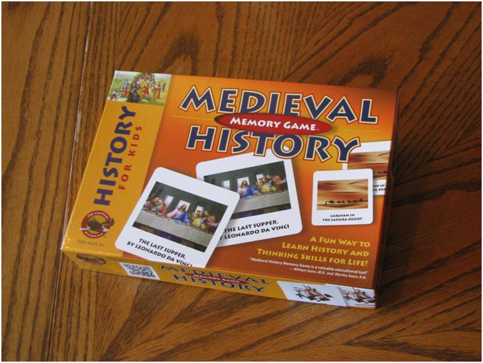 Medieval History Memory Game-Review